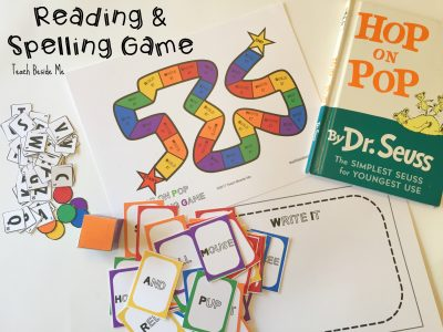 reading spelling game