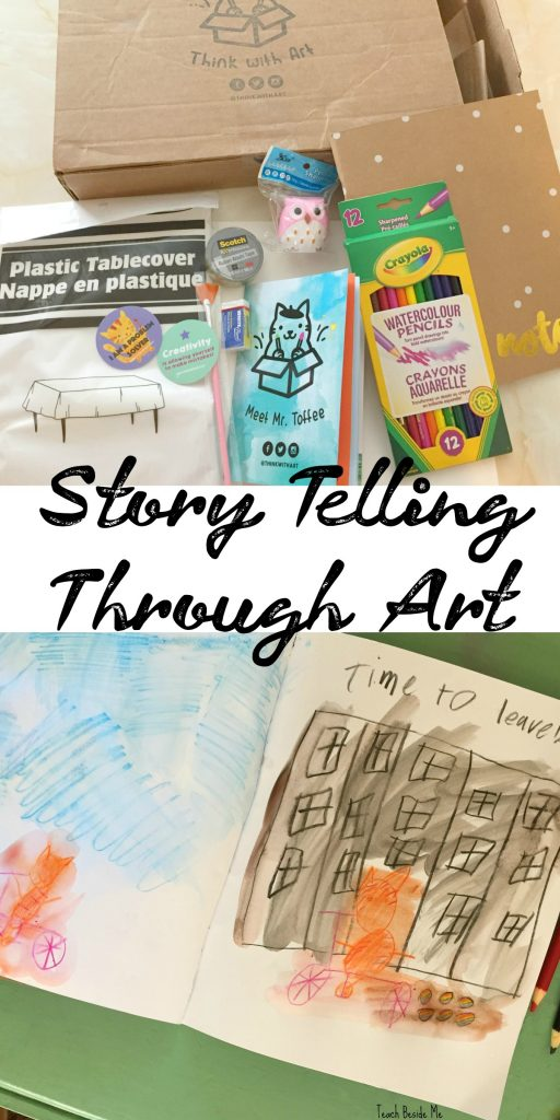 StoryTelling Through Art with Think With Art Subscription Boxes