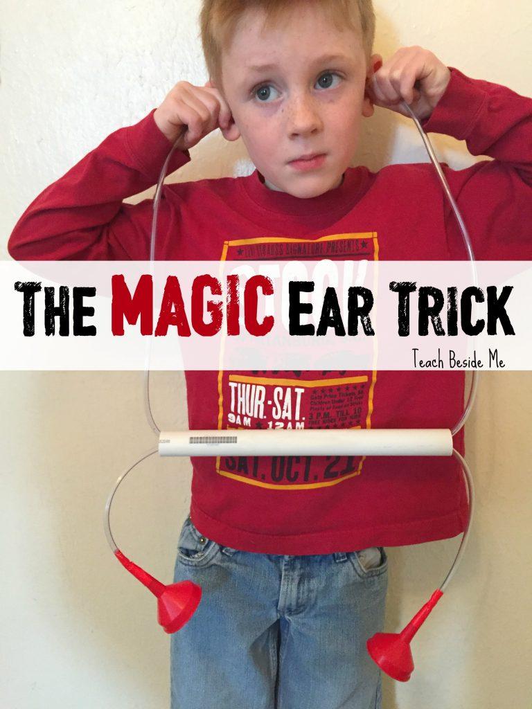 Magic Ear Trick Hearing Activity- The Ear Book