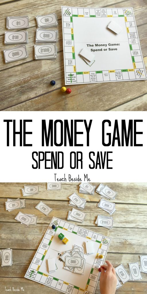 Teaching Money to Kids with The Money Game: Spend or Save