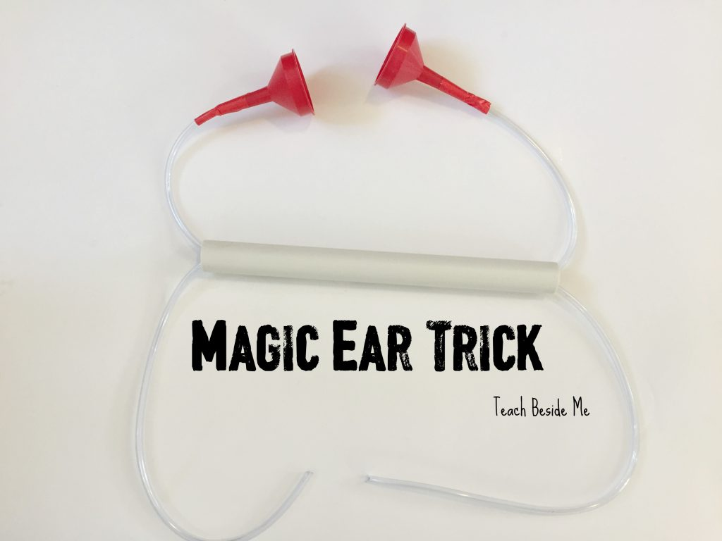 magic ear trick- hearing lesson