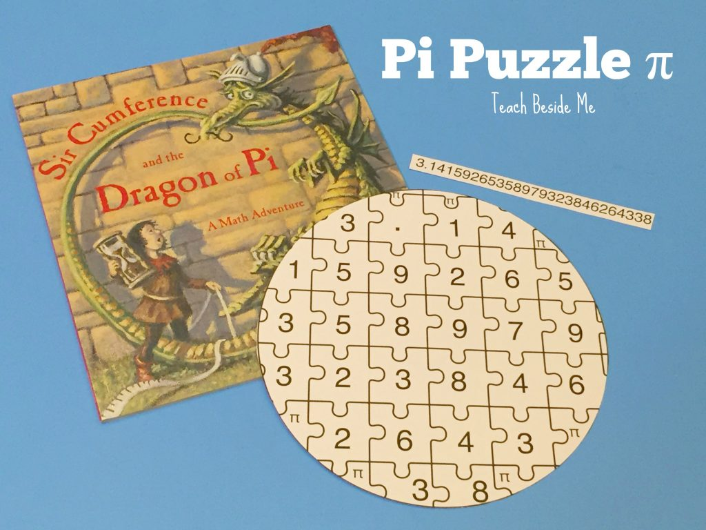 pi puzzle- activity for Pi Day