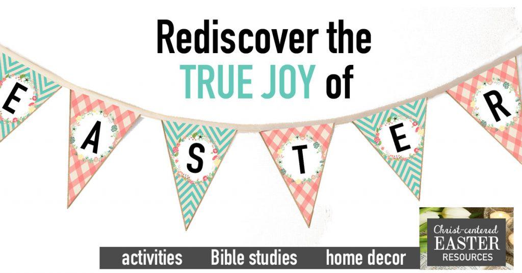 Christ-Centered Easter Devotional for Families