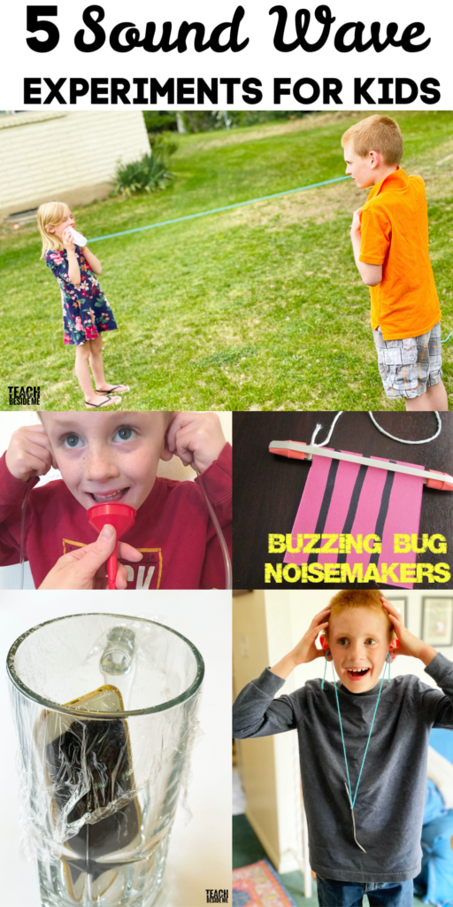 5 Sound Experiments for Kids