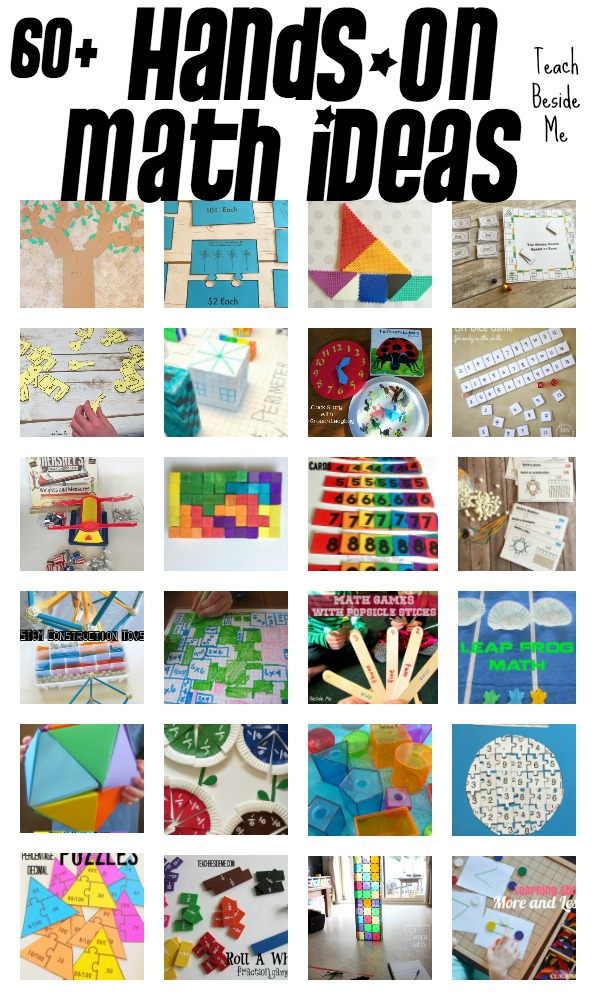 60 plus hands-on math ideas for elementary