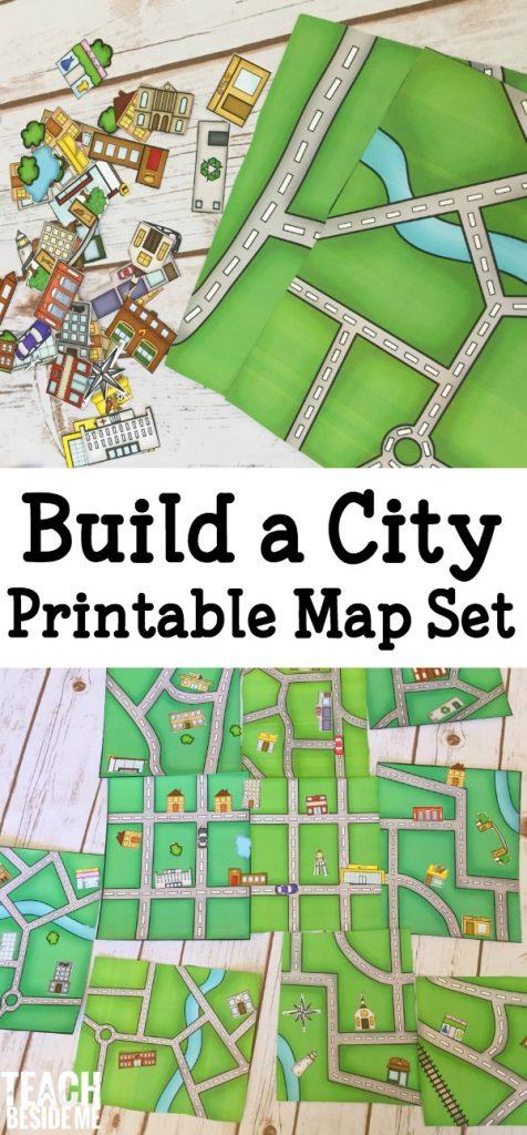 build a city map teach beside me