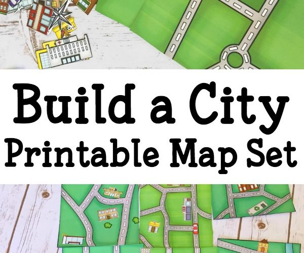 Build a City Map – Printable Geography Set