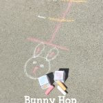 Bunny Hop Number Line Game