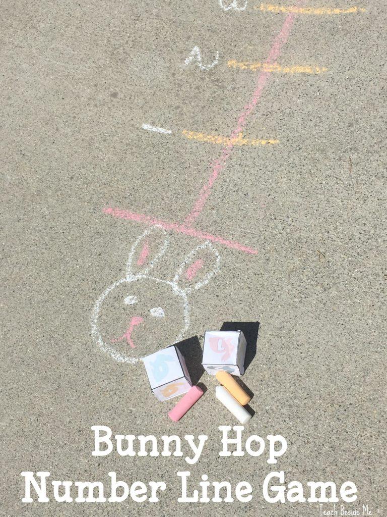 Bunny Hop Number Line Game