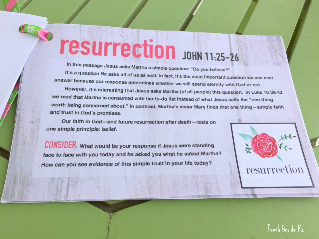 Christ-centered Easter devotional
