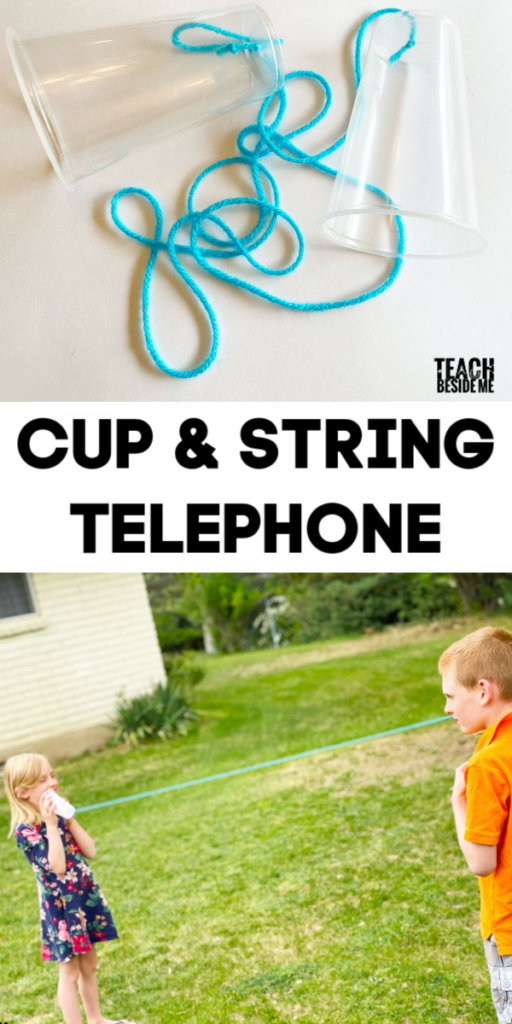 Cup and string phone