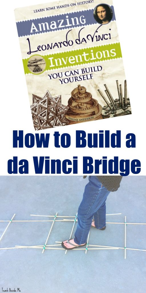 How to Build a da Vinci Bridge- Leonardo da Vinci Experiments for Kids
