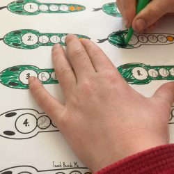 Snake Spelling: Printable Spelling Pages