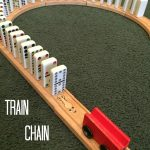 Train Chain Reactions With Dominoes