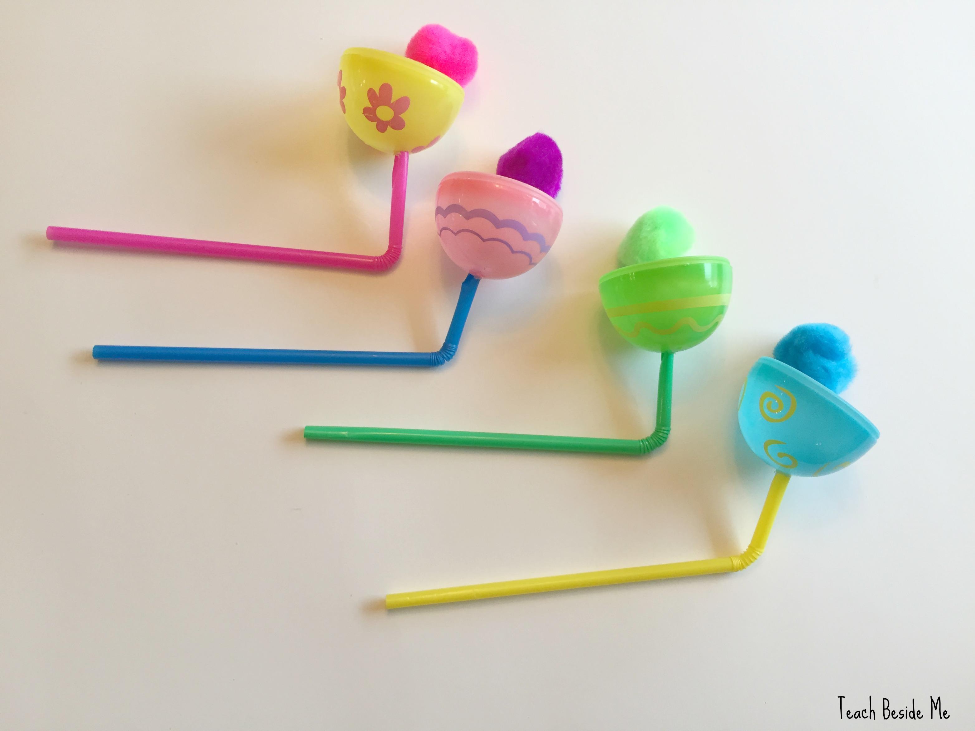Easter Egg Pom-Pom-Poppers