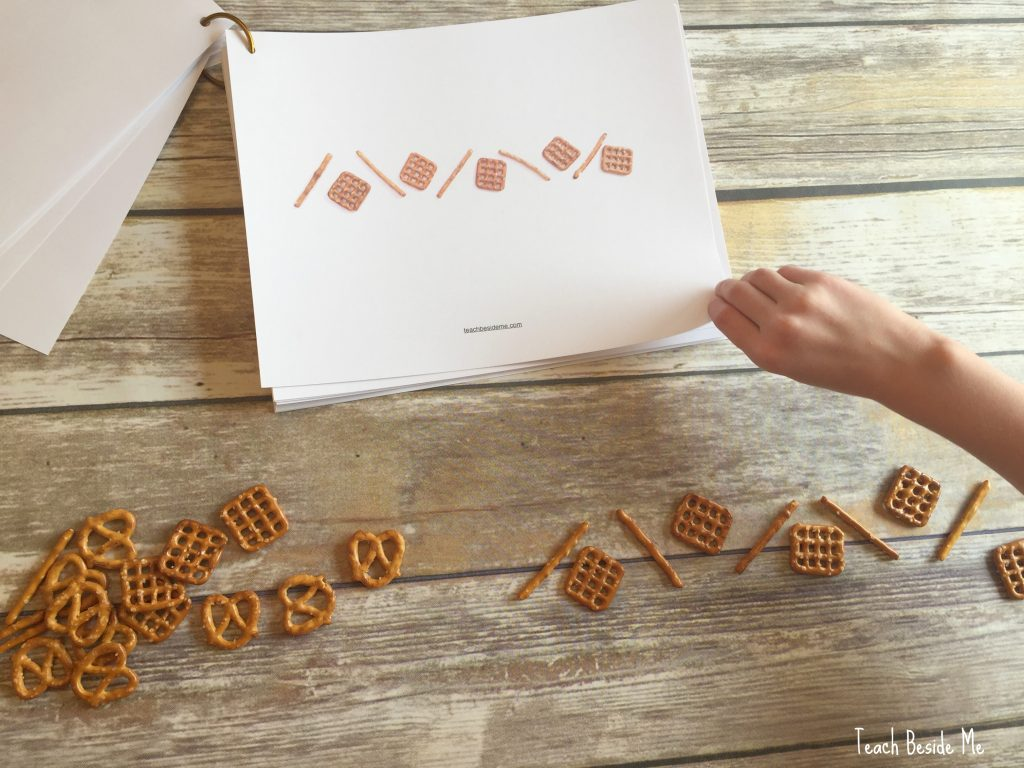 pretzel math patterns