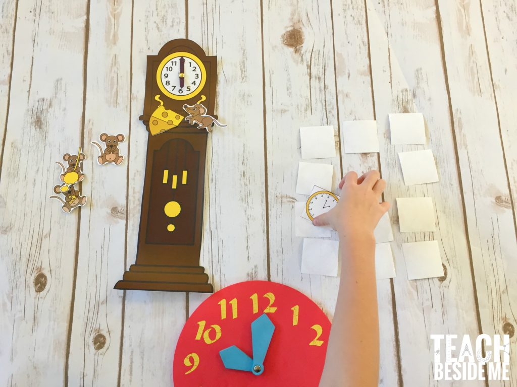 Hickory Dickory Dock Clock math