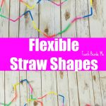 Flexible Straw Shape Building: STEM Play