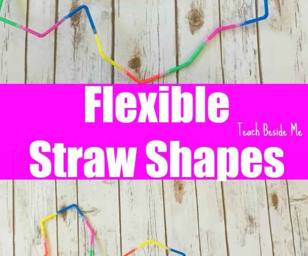 Flexible Straw Shape Building: STEM Play