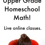 Live Online Math for Homeschool