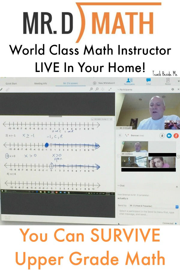 live online math for upper grades