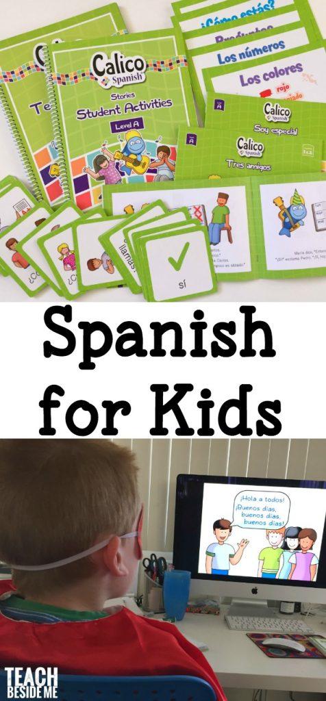 Spanish Curriculum for Kids- Calico Spanish
