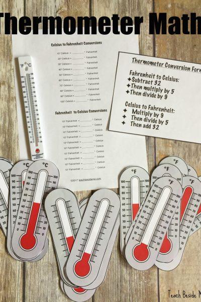 Thermometer Math: Temperature Conversions