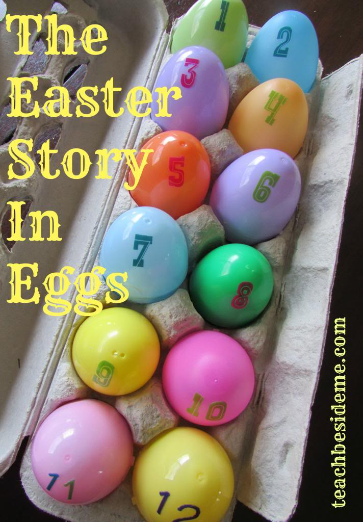 Resurrection eggs- Easter story in eggs