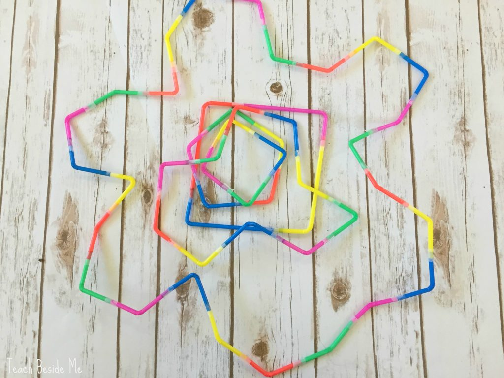 flexi-straw shapes
