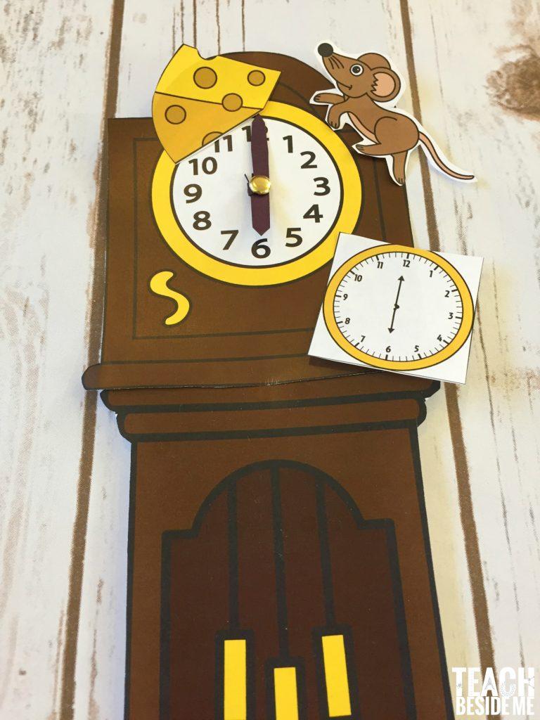 hickory dickory dock clock math