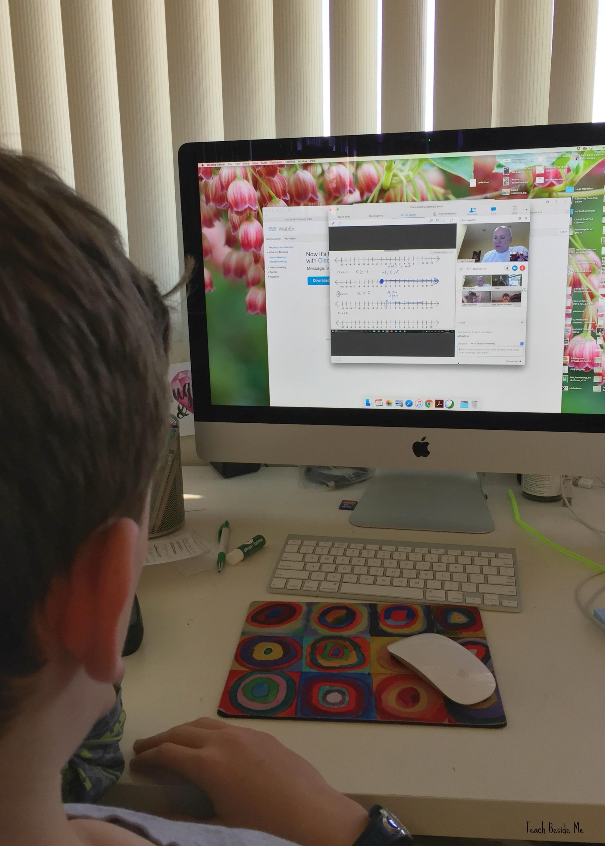 Live Online Math for Homeschool - Teach Beside Me
