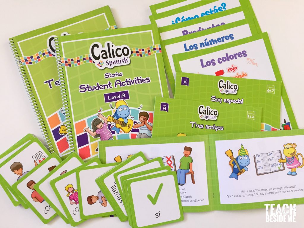 Calico Spanish Curriculum for Kids – Teach Beside Me
