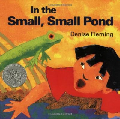 small pond frog book