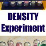 Density Experiment for Kids