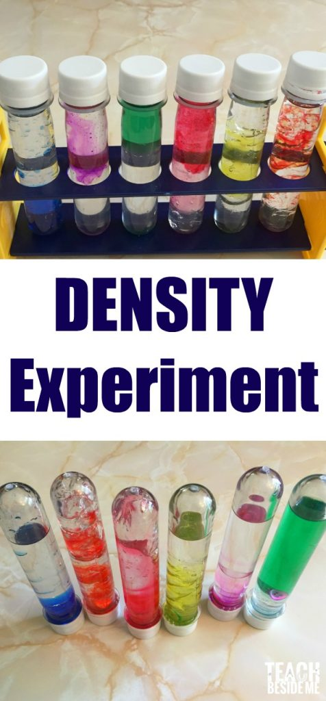 Density Experiment for Kids