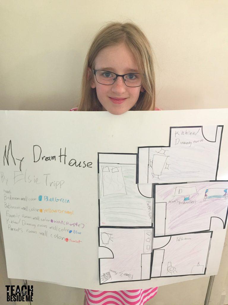 Dream house architecture & blueprint project