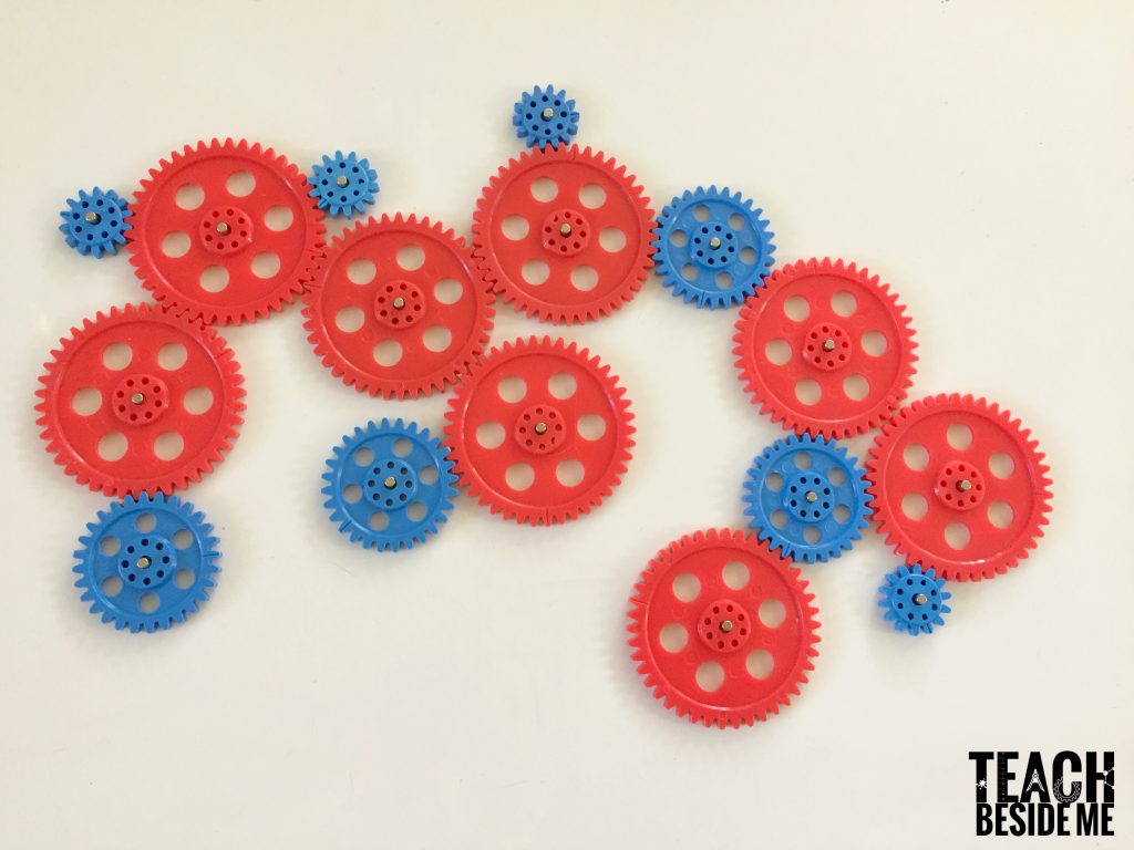 Gears and simple machines for kids