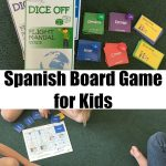 Dice Off: A Spanish Board Game for Kids