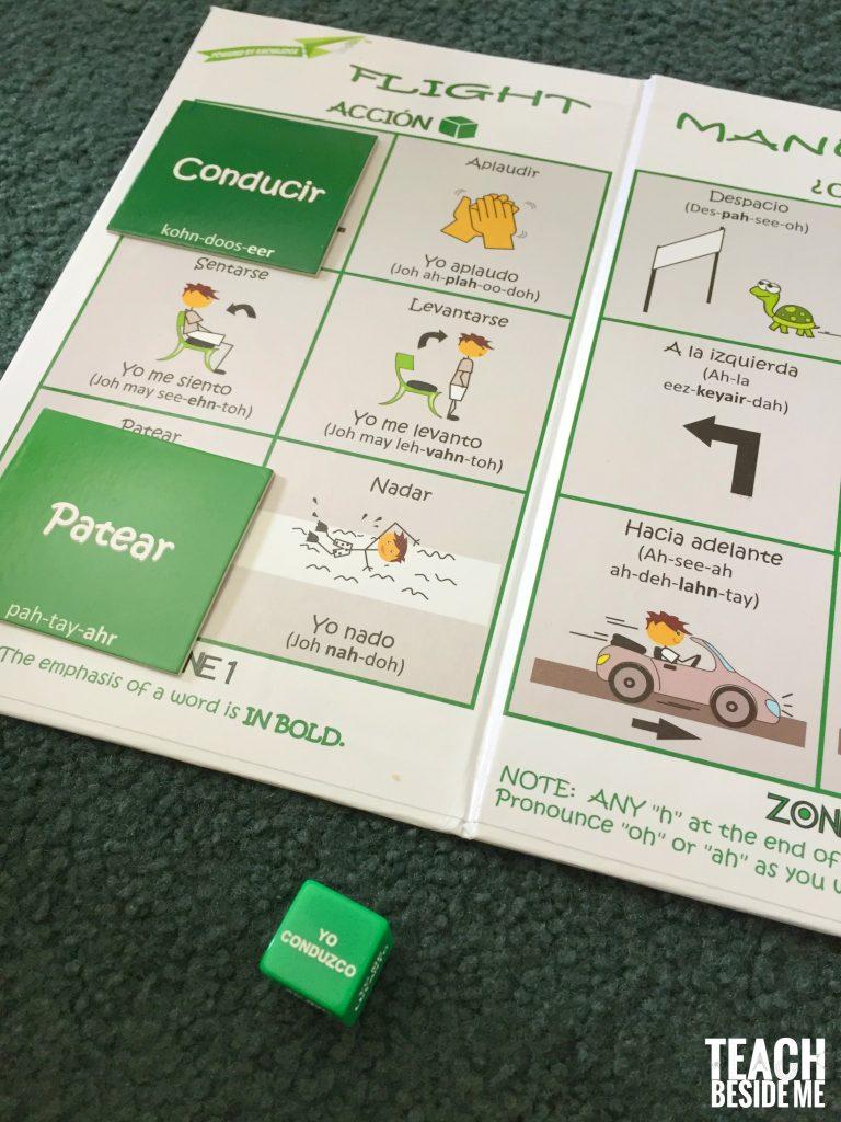 Spanish game flight manual