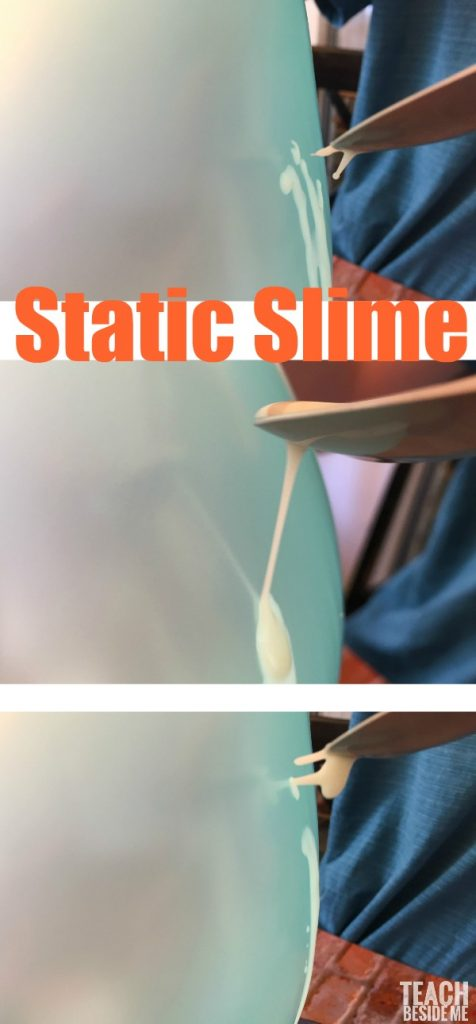 Static Slime Experiment - Non Toxic