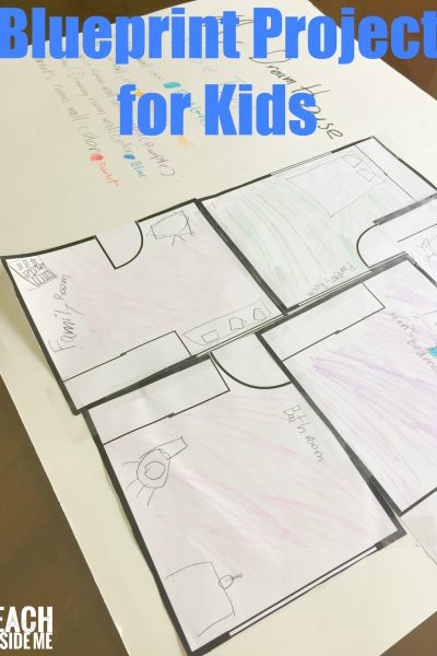 Blueprints and Architecture for Kids Inspired by Frank Lloyd Wright