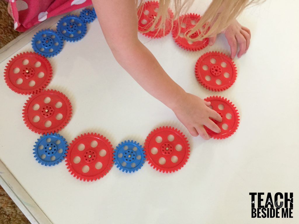 playing with gears