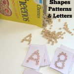 Cheerios Learning: Shapes, Patterns & Letters