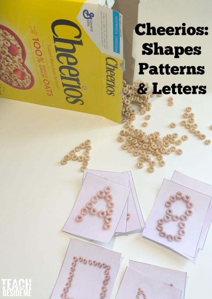 Cheerios shapes, patterns & letters