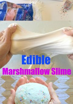 Save the Day with this Edible Marshmallow Slime!