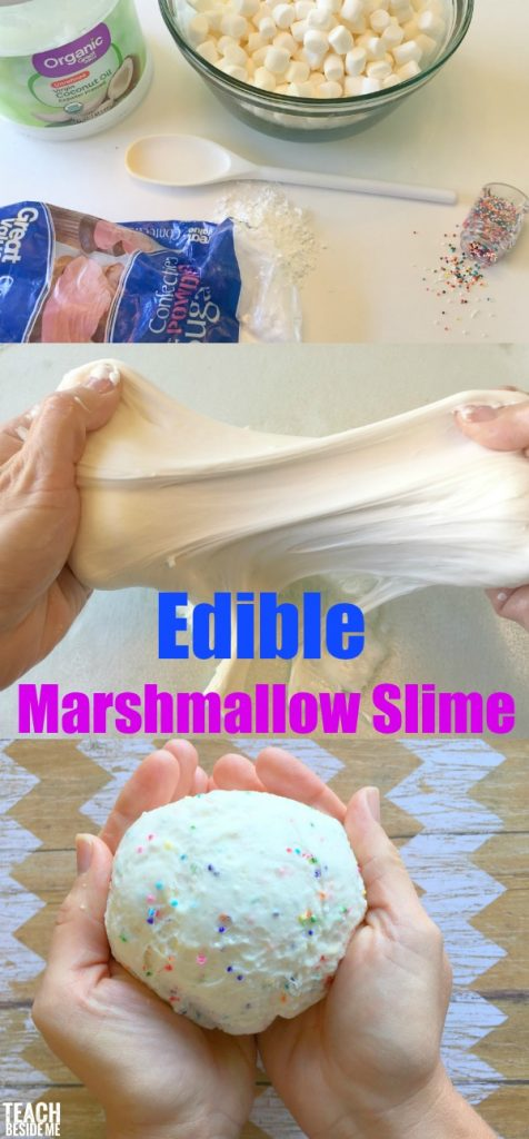 Save the Day with this Edible Marshmallow Slime! - Teach ...