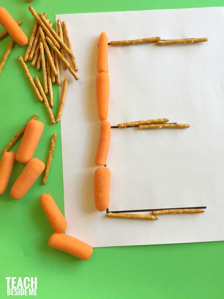 Letter E Preschool Snack