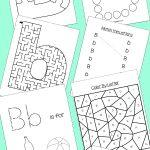 Preschool Letter B Activities