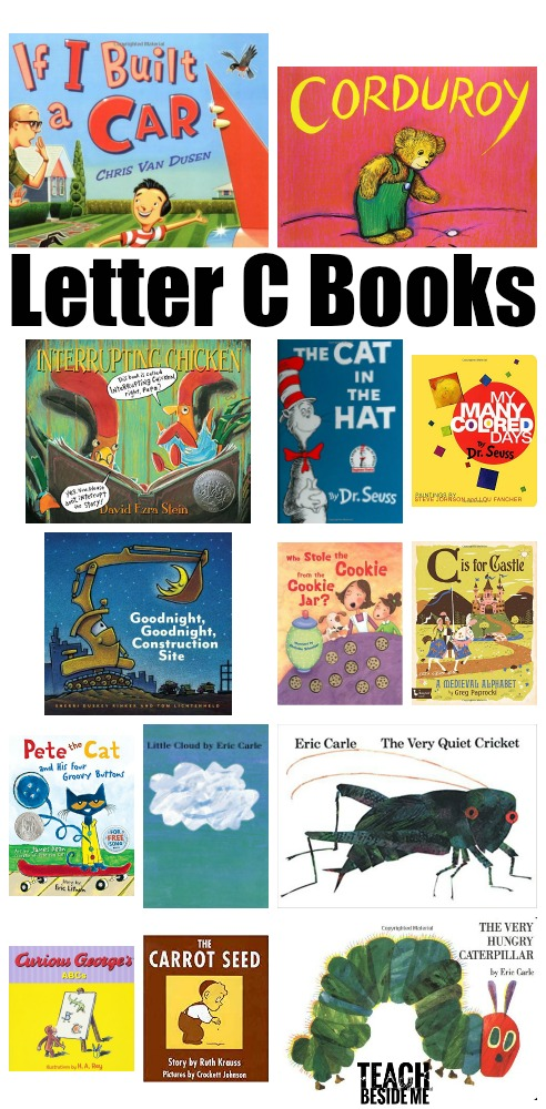 Preschool Letter C Books