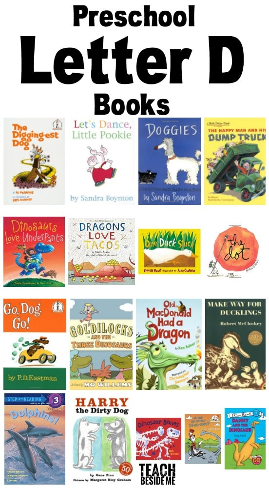 Preschool Letter D Books